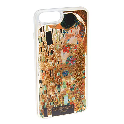 Schloss Schönbrunn Sisi Hülle iPhone 6 6S 7 8 Hardcover- Kunstvolle Glitzer Handyhülle Einzigartige Schutzhülle für Case iPhone (Kuss - iPhone 6/6S/7/8)