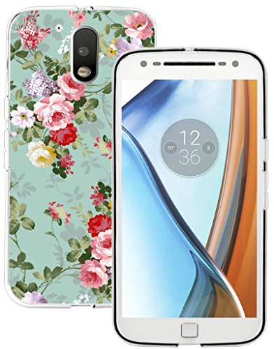 Moto G4 Plus Case & MUQR Replacement Rubber Gel Silicone Slim Drop Proof Protection Compatible Protector for Motorola G4 Plus/G4 4th Generation & Fashion Girl