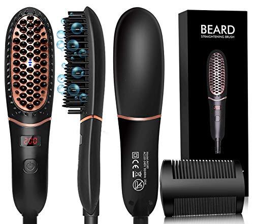 (60% OFF) Ionic Beard Straightening Comb W/ Ceramic Coated Bristles $9.99 Deal