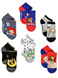 Disney Toy Story 4 Toddler Teen Boy's Girl's Adults 6 pack Sock Set (Shoe: 7-10 (Sock: 4-6), Blue/Multi)