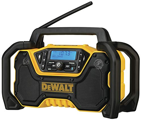 DEWALT 12V/20V MAX Portable Radio, Bluetooth, Cordless, Jobsite, Tool Only (DCR028B)