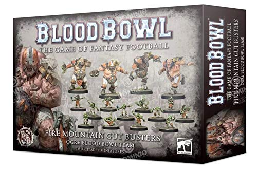 Blood Bowl Games Workshop Warhammer Fire Mountain Gut Busters