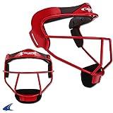 CHAMPRO Softball Fielder's Facemask Liner Pad, Scarlet (CM01LPSC)