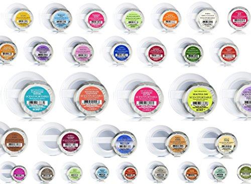 Bath & Body Works - Scentportable Grab Bag - Assorted Bundle of FOUR (4) Scentportable Refills