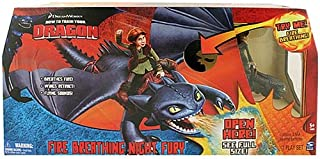 How To Train Your Dragon Fire Breathing Night Fury
