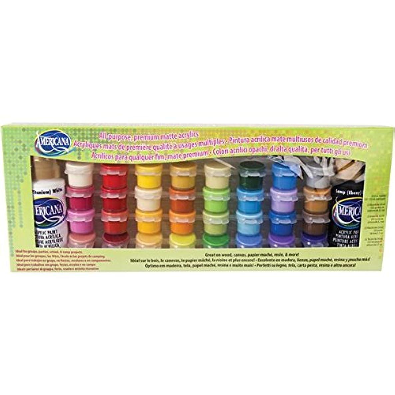DecoArt DASK293-K 34 Color Value Pack Set, Americana