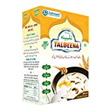 Benefits: Talbeenaa dispels weakness, Reduces hemoglobin deficiency in the blood, It controls increased and elevated cholesterol, beneficial in heart diseases. Dose: Mix 3 to 4 teaspoons of Talbeena in 200 ml of milk and mix well,, Heat the milk on l...