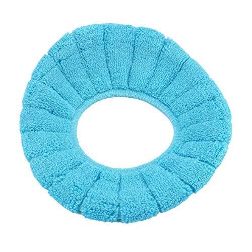 Heaviesk Copriwater Coprisedile Pad Universale Addensare O Rings Bagno Inverno Toilet Seat Candy Colore Addensare Caldo Morbido Coprivaso Sedile Coperchio Pad Strumenti