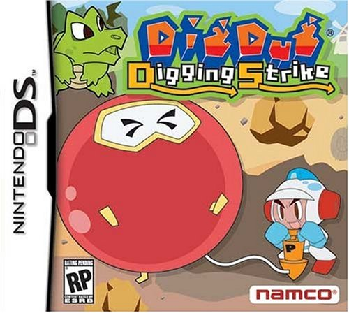 Namco Bandai Games Dig Dug Digging Strike - Juego (Nintendo DS, Aventura, 31.08.2006)