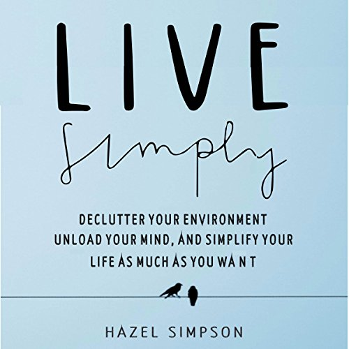 Live Simply audiobook cover art