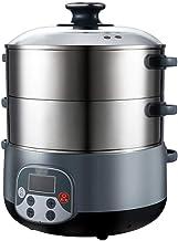 ECSWP ZHGUOCFYJ Steamer ménagers Multifonctions en Acier Inoxydable 304 à Trois Couches épaissie à Grande capacité électri...