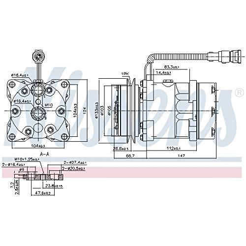 ALCO FILTER Ölfilter SP-1250 M27 x 2 für IVECO EuroCargo I-III EuroFire DAF LF