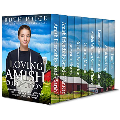 Loving Amish 9-Book Collection : Amish Friendship Bread 1-2, Amish Connections 1-3, Amish Widow's Second Chance, Lancaster Amish Fires of Autumn 1-2, The Long Run