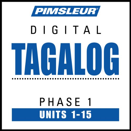 Tagalog Phase 1, Units 1 - 15 cover art