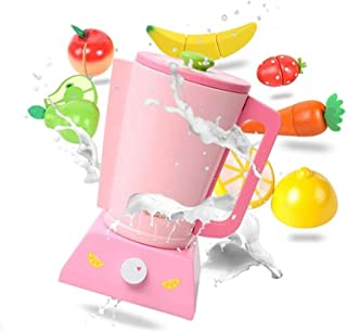 Play Food, Wooden Kids Play Food, Simulating Juicer Vegetables And Fruits Pretend Play Food for Pretend Role Playing Chris...