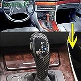Palanca De Cambios Gear Shift LED palanca de cambios palanca de ajuste for el BMW Accesorios 1 3 5 6 Serie E90 E60 E46 E39 E53 2D 4D E92 E87 E93 E83 E89 X3 automática (Color Name : E63 Silver color)