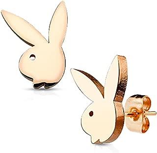 Best playboy bunny earrings gold Reviews