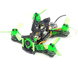 Happymodel Mantis85 85mm FPV Racing Drone Pure Carbon Quadcopter Frame Kit Supers_F4 6A BLHELI_S 5.8G 25MW 48CH 600TVL Camera + Flysky Receiver:Animewalk