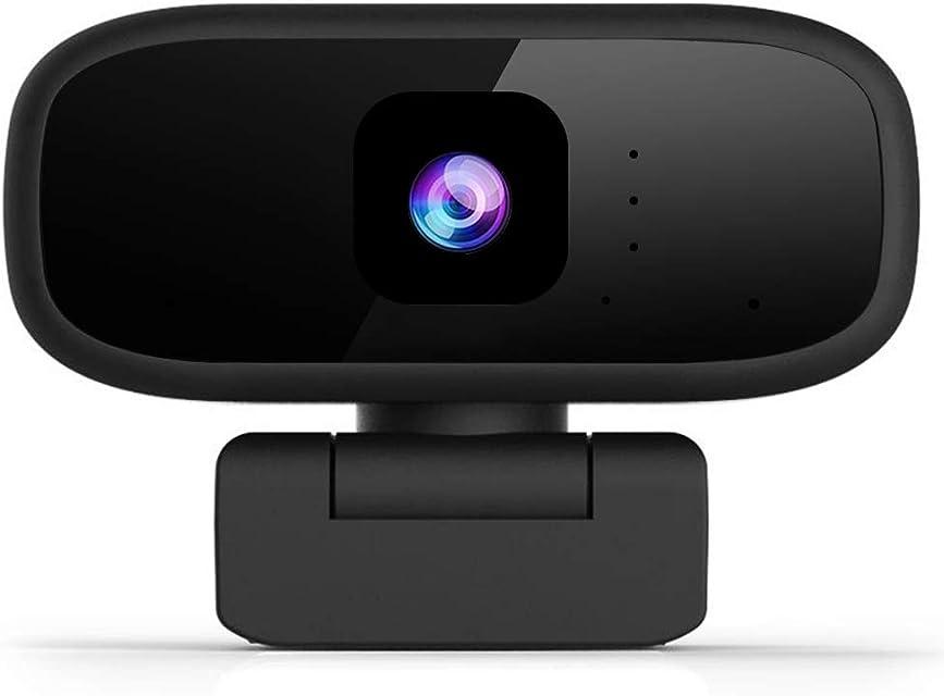 Aovaza Cámara Web Full HD 1280 x 720P con Micrófono Computadora Portátil PC de Escritorio USB 2.0 Webcam para videollamadas Estudios conferencias grabación Juegos con Clip Giratorio. (720P)