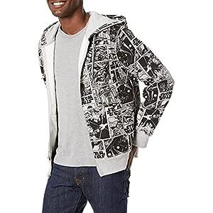 Amazon Essentials Men's Disney Fleece Full-Zip Hoodie Sweatshirts Sudadera Hombre 28