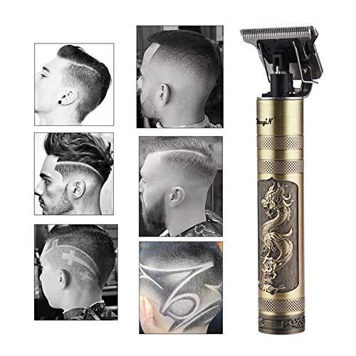 De Tondeuse De Professionnel Hommes Clipper Cutter Beard Rasage Chauve Précision De Finition Coupe De Cheveux Machine Adulte Enfant