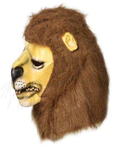 Latexmaske Löwe