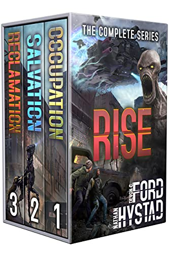 Rise: The Complete Series: (A Post-Apocalyptic Alien Invasion Boxed Set: Books 1-3) by [Nathan Hystad, Devon C. Ford]