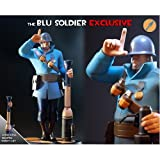 Gaming Heads GH005X Blue Soldier Team Fortress 2 Exclusive Statue