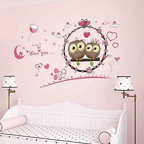 Etiqueta De La Pared De Dibujos Animados De Pvc Para La Decoración Del Hogar Del Dormitorio Adesivo De Parede Infantil