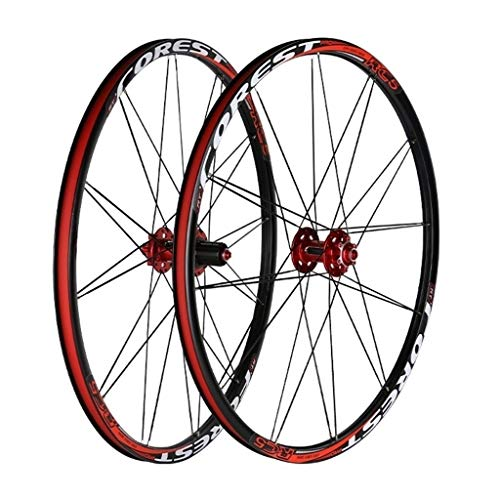 CHICTI Mountain Bike Wheelset MTB Bicycle 26 27.5inch Milling Trilateral Sealed Bearing Wheels 24H Rim Front 12 * 100 Rear 15 * 135 Outdoor