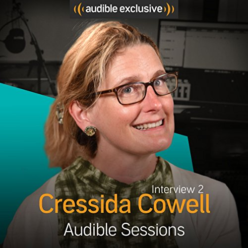 cressida cowell audible sessions free exclusive interview