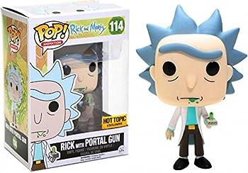 Funko POP! Rick with Portal Gun #114