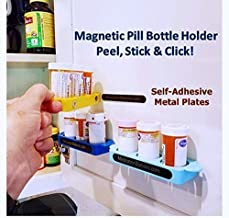 Stocking Stuffers/The Best Pill Bottle Organizers/Store & Protect Medication/Set of 3 - Organize Morning, Day & Night Time Pill Bottles/Prevent Costly Spills & Loss Even Upside Down!