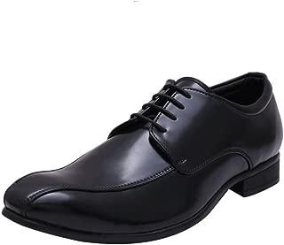 HiREL'S Black Derby Shoes