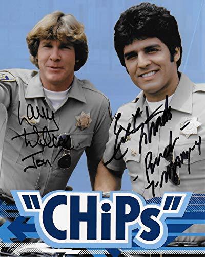 Erik Estrada & Larry Wilcox CHiPs 8X10#5