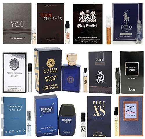 Pilestone's Selection: 12 Cologne Samples For Men All High End Designer Fragrances Good For Event...