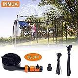 INMUA Trampoline Sprinkler, Outdoor Trampoline Water Sprinkler Waterpark Summer Fun...