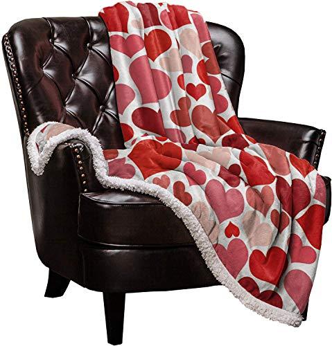 Red Heart Blanket