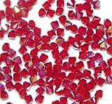 Cuerda de Cuentas de Cristal de Bohemia pulidas Preciosa de 4 mm, pulidas al Fuego, facetadas, Redondas, Cuentas de Estilo checo, Cristal,