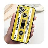 Funda vintage con cinta de cassette para...