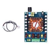 Eujgoov Componente elettronico del modulo scheda amplificatore audio con interfaccia stereo per un effetto eccellente