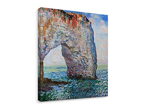 Niwo Art (TM - The Manneporte Near Etretat, by Claude Monet, Oil Painting Reproduction