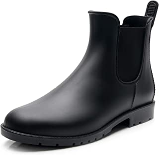 [Tomorrow's star] レインシューズ レディース レインブーツ 雨靴 サイドゴア 晴雨兼用
