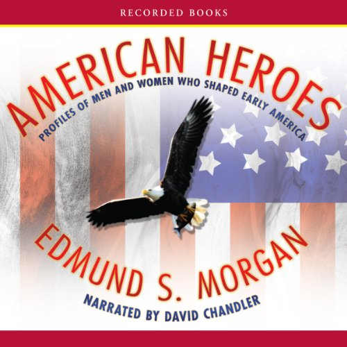 American Heroes audiobook cover art