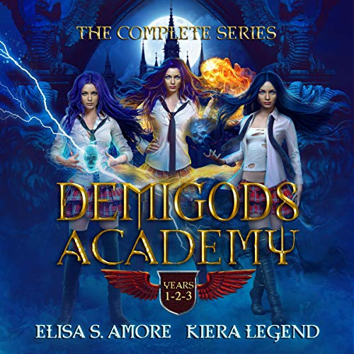 Demigods Academy Box Set: The Complete Series  By  cover art