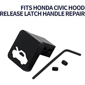 Blue 2006-2014 Ridgeline Monrand Hood Latch Release Handle Repair for 1997-2006 Honda Civic CR-V 2003-2011Element