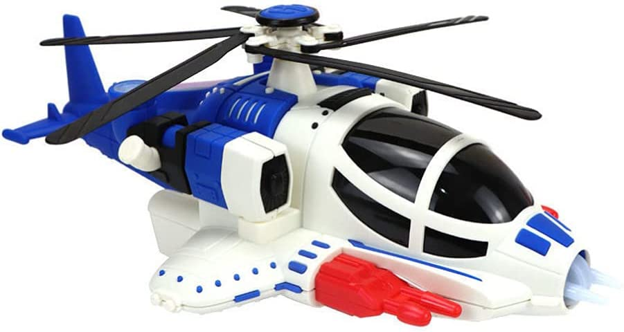 Kisangel OFFer Toy Airplane with Music Assembly Ultra-Cheap Deals Helicopter Model Light