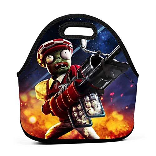 AOOEDM - Mini bolsas térmicas reutilizables para alimentos duraderas para niños y niños, bolsa de viaje para alimentos calientes, PvZ Garden Warfare 2 Fiambrera de estrella de golf para fiestas de tr