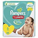 Pampers New Diaper Pants, Small, 86 Count