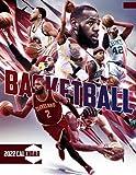 """Basketball 2022 Calendar: SPORT Calendar 2022-2023 – 18 months – BIG SIZE 17""""x11"""". Planner for all fans kids boys"""